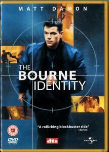 The Bourne Identity DVD