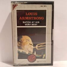 Louis Armstrong - Satch At His Very Best (Cassette Audio - K7 - Tape)