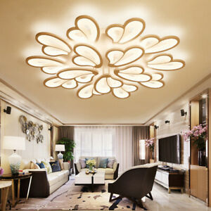 Modern LED Ceiling Lights Living Room Bedroom Chandelier Lamp Fixtures Light New
