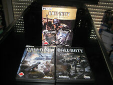 Call of Duty (DT). - Deluxe Edition (PC, 2004, DVD-BOX)