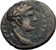 Domitian Judaea Capta Ancient Roman Coin Caesarea Paneas Herod Agrippa II i64117