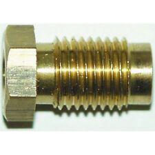 "Automec Brake Pipe Brass Union Fitting Male 3/8""x24 UNF 3/16"