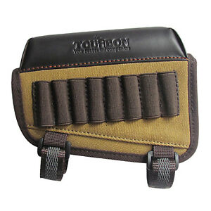 Tourbon Rifle Cheek Riser Rest Ammo Holder Bullets Carrier Buttstock Left Handed