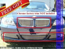 GTG 2006 - 2008 BMW 328i 328xi 335i E90 8PC Polished Billet Grille Insert Kit