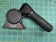 Apurture DEC Adapter Canon EF to Sony E Mount mint