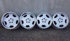 "RH TOPLINE AA 17"" 8/10J 5x112 Mercedes alloy wheels W126 R129 E500 W123 R107 Amg"