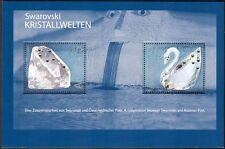 More details for austria 2004 swarovski/crystals/gems/minerals/jewellery/swan 2v m/s (s5046a)