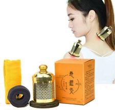 Moxa Stick Burner Portable Smokeless Moxa Box Moxibustion Heat Therapy Health 艾灸