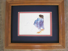 R C Gorman,  NAVAJO TURQUOISE , Navajo, framed, matted with glass
