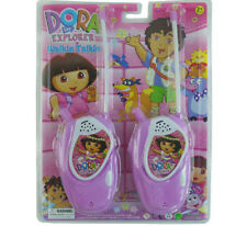 DORA THE EXPLORER ELECTRONIC WALKIE TALKIE PLAY SET KID BOY CHILDREN TOY