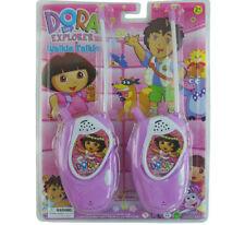 DORA THE EXPLORER ELECTRONIC WALKIE TALKIE PLAY SET KID BOY GIRL CHILDREN TOY