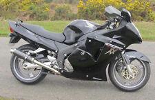 Honda CBR1100 Blackbird SP Engineering Carbon Fibre Round Big Bore XLS Exhausts