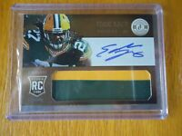 2013 PANINI TOTALLY CERTIFIED ROOKIE AUTO JERSY EDDIE LACY GREEN BAY PACKERS