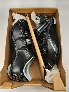 Bontrager Inform Race Road WSD Biking Cycling Womens Shoes Black Straps Size 5