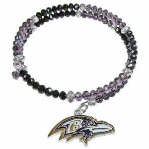 Baltimore Ravens Women's 400 Degrees Crystal Bracelet