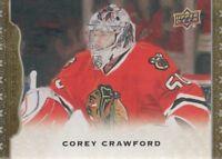 2014-15 Upper Deck Masterpieces Hockey #52 Corey Crawford Chicago Blackhawks