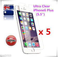 Free Post 5 Ultra Clear Screen Protector Apple® iPhone 6 / 6S / iPhone 7 / 7plus
