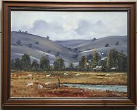 John John~Listed Artist~collectable original painting~Titled