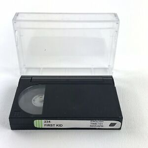 Vtg 90s UNITED AIRLINES Master 8mm Movie: FIRST KID - In Flight Video RARE