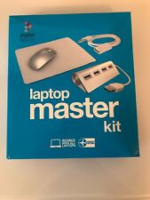 Digital Basics Laptop Master Kit Wireless Mouse 4 Port USB Ext Cable Pad