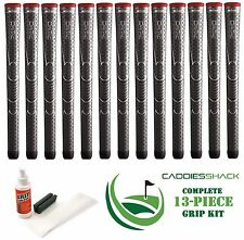 13 Winn Golf Dri-Tac Dritac AVS Soft Dark Gray Standard Size Grip + Install Kit