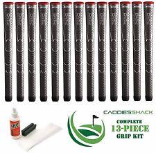 13 Winn Golf Dri-Tac Dritac AVS Soft Dark Gray Standard Size Grip + Install Kit