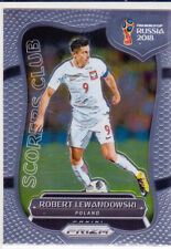 2018 Panini Prizm World Cup Scorers Club #SC-15 Robert Lewandowski
