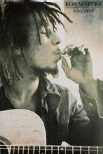 "Bob Marley Rastaman Poster - 24""x36"""