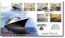 Buckingham Covers Carried on QM2's Maiden Voyage