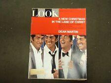 1967 DECEMBER 26 LOOK MAGAZINE - DEAN MARTIN - ST 2921