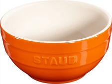 STAUB céramique 6 de Set Bol BOL desertschale, petit orange 12 cm céramique