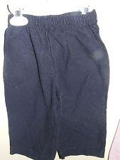 Zuccini 24M Corduroy Pants Navy Blue Wear W/ Smock Appique Boutique Boys Fall