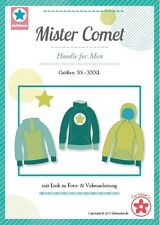 Mister Comet, Herren Hoodie, Papierschnittmuster