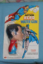 vintage Durham's Action Hero SUPERMAN WATER GUN MOC