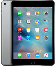 Apple iPad mini 4 64GB, Wi-Fi + Cellular (Unlocked), 7.9in - Space Gray
