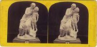 L Amore Scultore Brodaki Expo Universale Da Parigi 1867 Foto Stereo Albumina
