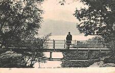 Loch Lomond,Scotland,U.K.Tross achs,Bridge Over Inversenaid Falls,Tuck,Used,1910