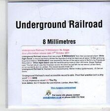 (CH754) Underground Railroad, 8 Millimetres - 2011 DJ CD