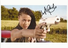 Nina Toussaint White Dr Who hand signed litho photo UACC RD 86 with coa
