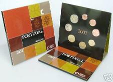 2007 Divisionale ufficiale 8 monete 3,88 EURO PORTOGALLO BU portugal