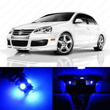 9 x Ultra Blue LED Interior Light Package For 2005 - 2010 VW Jetta MK5