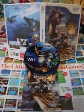 Nintendo Wii:Monster Hunter 3 Tri [TOP CAPCOM / BON ETAT] COMPLET - UK