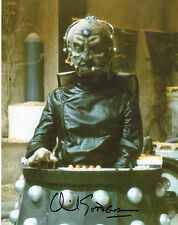DR WHO & THE DALEKS personally signed 10x8 - DAVID GOODERSON - DAVROS