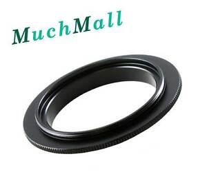 52mm Macro Lens Reverse Adapter Ring for Nikon F mount camera Df D4S D810 D7200