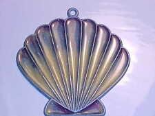 SUNCATCHER -   SEA SHELL WITH LAVENDER TRIM