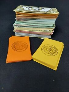 1991 Franklin Mint Monopoly Collectors Edition Money - Chest Chance Cards