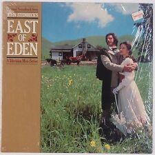 EAST OF EDEN: John Steinbeck TV Soundtrack USA Elektra Jane Seymour VINYL LP OST