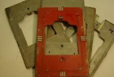 Pull Station vintage antique back plate plates gamewell harrington fire alarm
