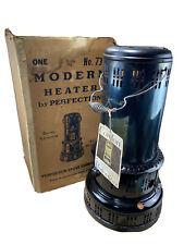 1954 Antique Vintage Perfection Kerosene Heater W Original Box New Old Stock NOS