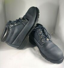 Timberland Nubuck Waterproof Blue/Grey Suede Leather Boots Women's Size 8